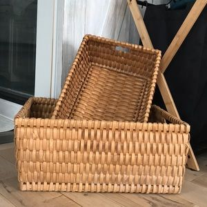 Set of Large Baskets